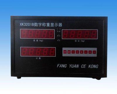 点击查看详细信息<br>标题:XK3201B数字称重显示器 阅读次数:562